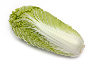 Beneficial Food - Chinese Cabbage Vegetable Image