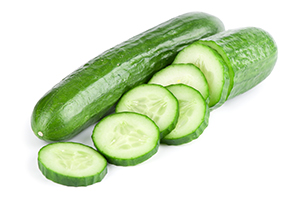 Beneficial Food - Cucumber Vegetable Image