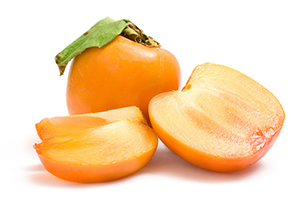 Beneficial Food - Persimmon Fruit Image