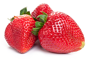 Beneficial Food - Strawberry Fruit Image